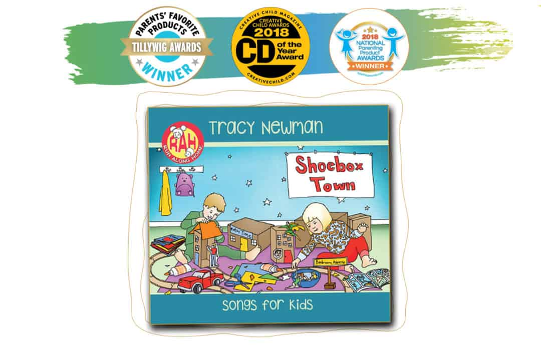 Tracy Newman's Kids CD Shoebox Town wins several awards