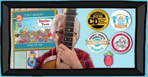 Librarians, Get the multi award-winning children's music CDs by Tracy Newman
